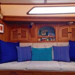 s/v Due West starboard side salon