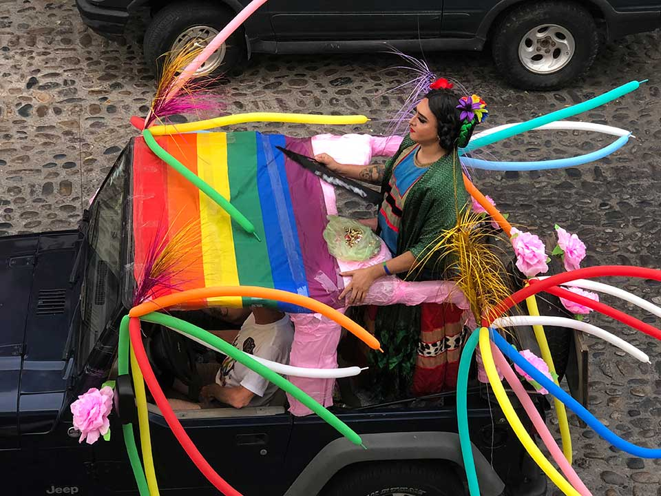 Freda at the Pride Parade, PV 2019